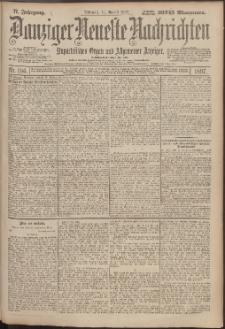 Danziger Neueste Nachrichten : unparteiisches Organ und allgemeiner Anzeiger 186/1897