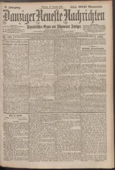 Danziger Neueste Nachrichten : unparteiisches Organ und allgemeiner Anzeiger 190/1897