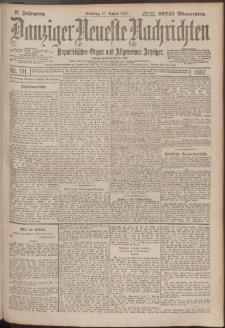 Danziger Neueste Nachrichten : unparteiisches Organ und allgemeiner Anzeiger191/1897
