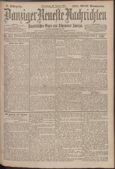 Danziger Neueste Nachrichten : unparteiisches Organ und allgemeiner Anzeiger193/1897