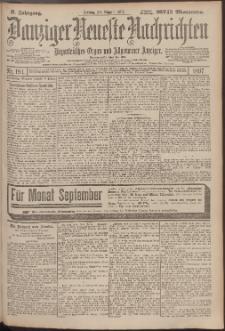 Danziger Neueste Nachrichten : unparteiisches Organ und allgemeiner Anzeiger194/1897