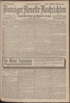 Danziger Neueste Nachrichten : unparteiisches Organ und allgemeiner Anzeiger195/1897