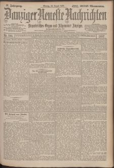 Danziger Neueste Nachrichten : unparteiisches Organ und allgemeiner Anzeiger196/1897