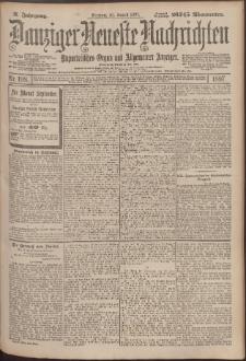 Danziger Neueste Nachrichten : unparteiisches Organ und allgemeiner Anzeiger198/1897