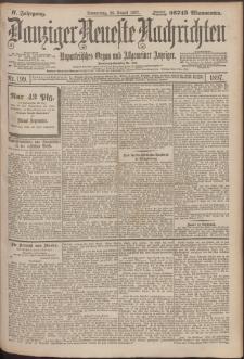 Danziger Neueste Nachrichten : unparteiisches Organ und allgemeiner Anzeiger199/1897
