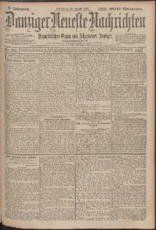 Danziger Neueste Nachrichten : unparteiisches Organ und allgemeiner Anzeiger201/1897