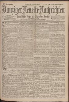 Danziger Neueste Nachrichten : unparteiisches Organ und allgemeiner Anzeiger204/1897