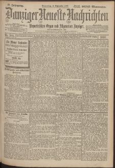 Danziger Neueste Nachrichten : unparteiisches Organ und allgemeiner Anzeiger205/1897