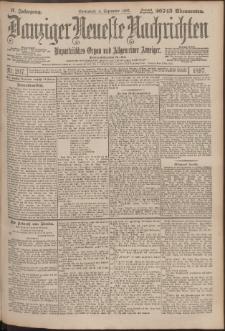 Danziger Neueste Nachrichten : unparteiisches Organ und allgemeiner Anzeiger207/1897