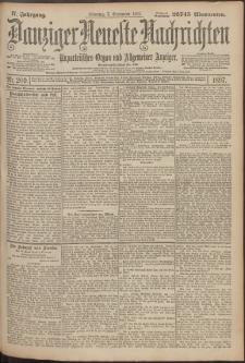 Danziger Neueste Nachrichten : unparteiisches Organ und allgemeiner Anzeiger209/1897