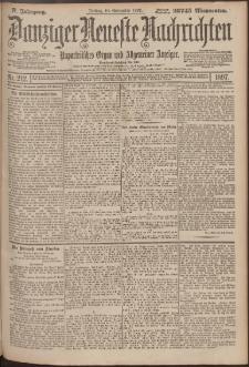 Danziger Neueste Nachrichten : unparteiisches Organ und allgemeiner Anzeiger 212/1897