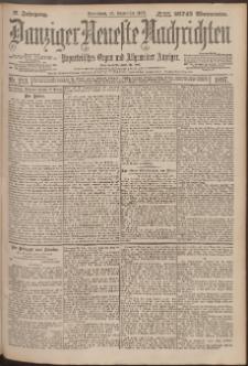 Danziger Neueste Nachrichten : unparteiisches Organ und allgemeiner Anzeiger 213/1897