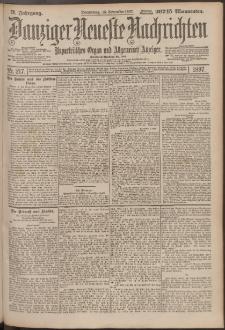 Danziger Neueste Nachrichten : unparteiisches Organ und allgemeiner Anzeiger 217/1897