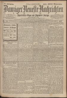 Danziger Neueste Nachrichten : unparteiisches Organ und allgemeiner Anzeiger 218/1897