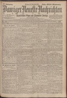 Danziger Neueste Nachrichten : unparteiisches Organ und allgemeiner Anzeiger 220/1897
