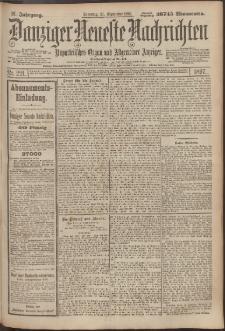 Danziger Neueste Nachrichten : unparteiisches Organ und allgemeiner Anzeiger 221/1897