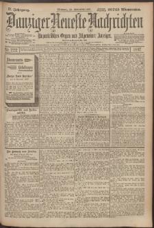 Danziger Neueste Nachrichten : unparteiisches Organ und allgemeiner Anzeiger 222/1897