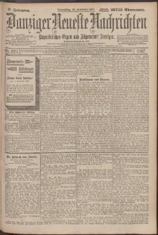 Danziger Neueste Nachrichten : unparteiisches Organ und allgemeiner Anzeiger 223/1897