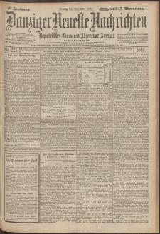 Danziger Neueste Nachrichten : unparteiisches Organ und allgemeiner Anzeiger 224/1897