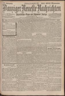 Danziger Neueste Nachrichten : unparteiisches Organ und allgemeiner Anzeiger 228/1897