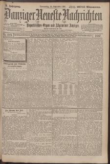 Danziger Neueste Nachrichten : unparteiisches Organ und allgemeiner Anzeiger 229/1897