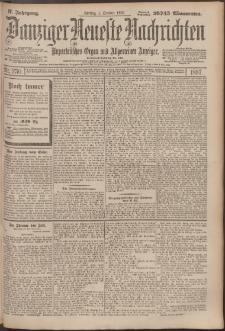 Danziger Neueste Nachrichten : unparteiisches Organ und allgemeiner Anzeiger 230/1897