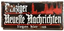 Danziger Neueste Nachrichten : unparteiisches Organ und allgemeiner Anzeiger 231/1897