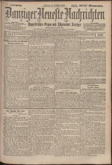 Danziger Neueste Nachrichten : unparteiisches Organ und allgemeiner Anzeiger 242/1897