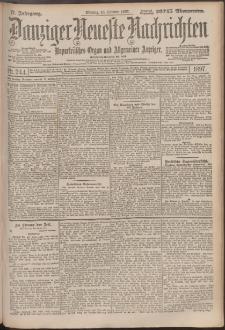 Danziger Neueste Nachrichten : unparteiisches Organ und allgemeiner Anzeiger 244/1897