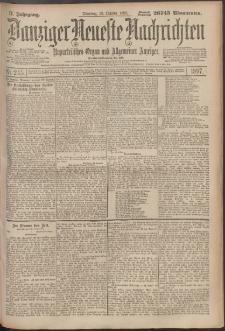 Danziger Neueste Nachrichten : unparteiisches Organ und allgemeiner Anzeiger 245/1897
