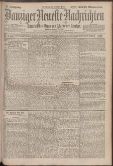 Danziger Neueste Nachrichten : unparteiisches Organ und allgemeiner Anzeiger 246/1897