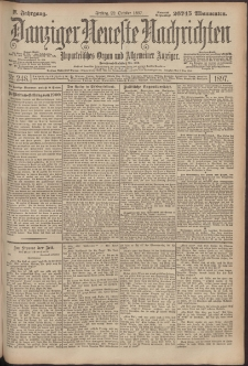 Danziger Neueste Nachrichten : unparteiisches Organ und allgemeiner Anzeiger 248/1897
