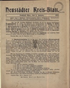 Neustadter Kreis - Blatt, nr.34, 1912
