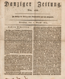 Danziger Zeitung, 1813.08.03 nr 122