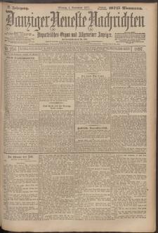 Danziger Neueste Nachrichten : unparteiisches Organ und allgemeiner Anzeiger256/1897