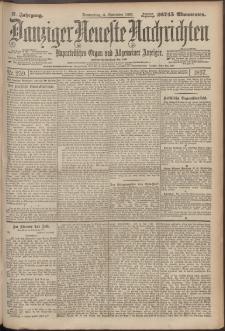 Danziger Neueste Nachrichten : unparteiisches Organ und allgemeiner Anzeiger259/1897