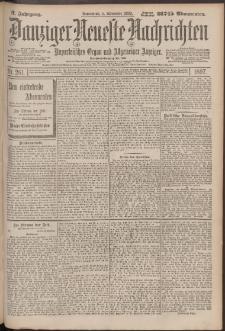 Danziger Neueste Nachrichten : unparteiisches Organ und allgemeiner Anzeiger 261/1897
