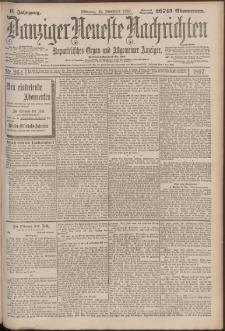 Danziger Neueste Nachrichten : unparteiisches Organ und allgemeiner Anzeiger 264/1897