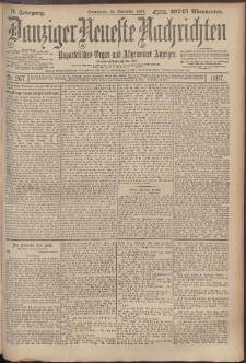 Danziger Neueste Nachrichten : unparteiisches Organ und allgemeiner Anzeiger 267/1897