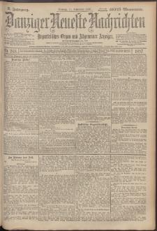 Danziger Neueste Nachrichten : unparteiisches Organ und allgemeiner Anzeiger 268/1897