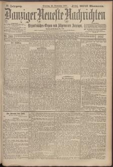 Danziger Neueste Nachrichten : unparteiisches Organ und allgemeiner Anzeiger 269/1897