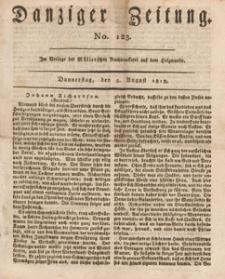 Danziger Zeitung, 1813.08.05 nr 123