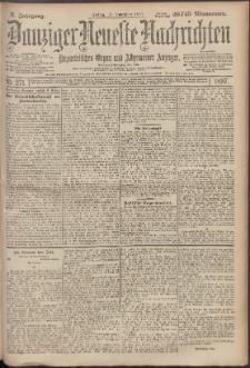 Danziger Neueste Nachrichten : unparteiisches Organ und allgemeiner Anzeiger 271/1897