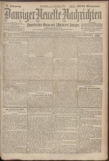 Danziger Neueste Nachrichten : unparteiisches Organ und allgemeiner Anzeiger 272/1897