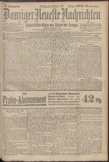 Danziger Neueste Nachrichten : unparteiisches Organ und allgemeiner Anzeiger 274/1897