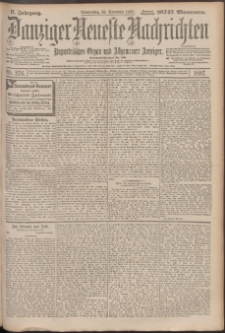 Danziger Neueste Nachrichten : unparteiisches Organ und allgemeiner Anzeiger 276/1897
