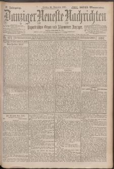Danziger Neueste Nachrichten : unparteiisches Organ und allgemeiner Anzeiger 277/1897