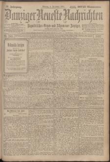 Danziger Neueste Nachrichten : unparteiisches Organ und allgemeiner Anzeiger 285/1897