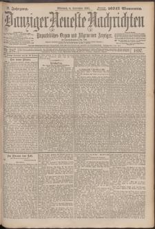 Danziger Neueste Nachrichten : unparteiisches Organ und allgemeiner Anzeiger 287/1897