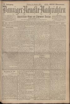 Danziger Neueste Nachrichten : unparteiisches Organ und allgemeiner Anzeiger 291/1897